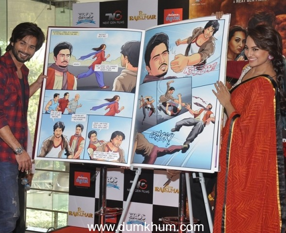 R…Rajkumar presents India's first Custom Comic