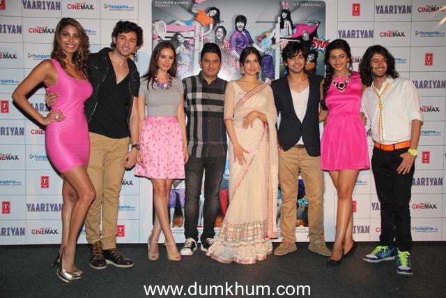 Bhushan Kumar & Divya Khosla Kumar launch the first look theatrical trailer of the contemporary entertainer Yaariyan.