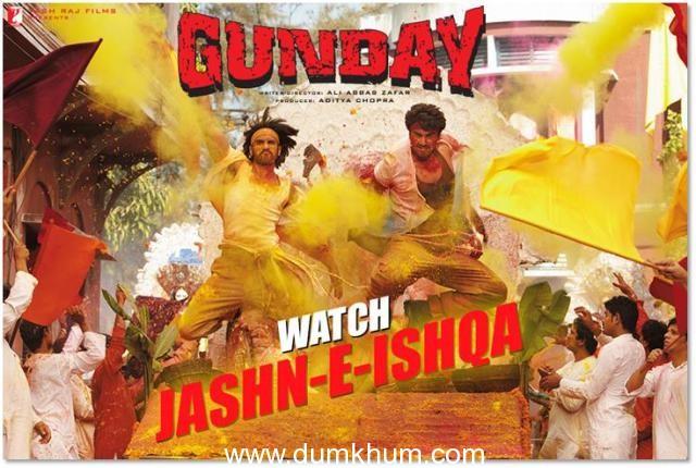 """Bikram & Bala explode GUNDAY-style with """"JASHN-E-ISHQA"""""""