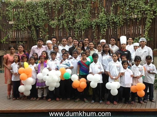Courtyard by Marriott, Pune City Centre hosts a Republic Day Art Competition   and Brunch for Hope for the Children Foundation