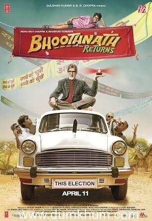 Amitabh Bachchan launches Bhoothnath Returns theatrical