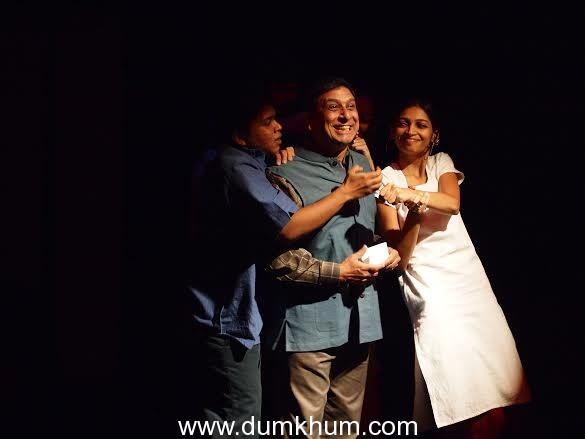 Annual Vinod Doshi Memorial Theatre Festival  brought to you by  The Vinod & Saryu Doshi Foundation