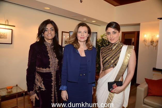 Kareena Kapoor Khan special guest at French First Lady, Valerie Trierweiler's luncheon.