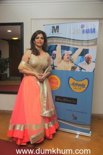 """Music Mania's """"Shaam -e-Qwwali"""" a celebrated evening for the music connoisseurs, Members and celebrities"""