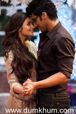 Alia Bhatt kisses well ! That's what Arjun says …