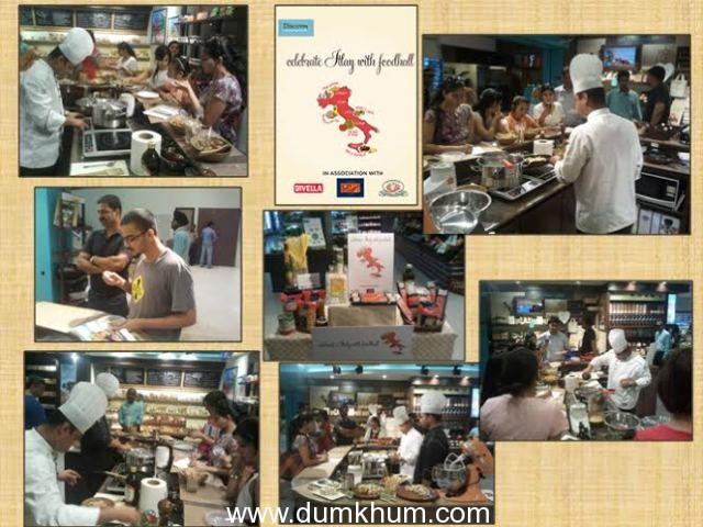Italian Masterclass with Chef Debasish Dutta at Foodhall @DLF Place Saket