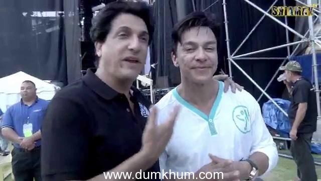 Guru of Dance, Shiamak Davar and Founder of Zumba Beto Perez wishing everyone 'Happy International Dance Day'!