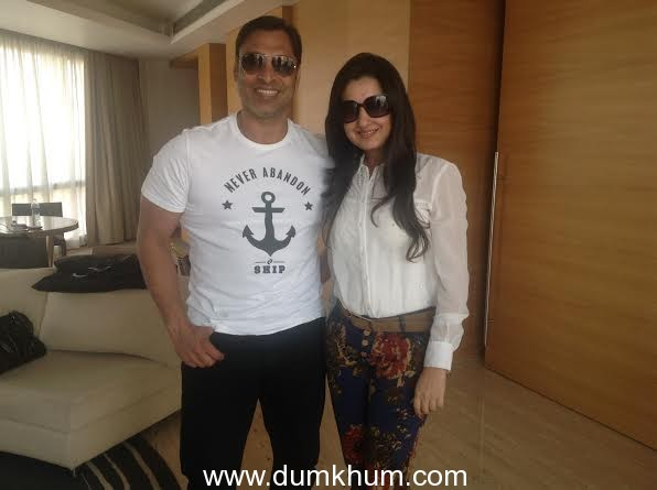 """Giving it back to Mother Earth! Shoaib Akhtar supports Amy billimorias """"Earth 21"""" Project mission !"""