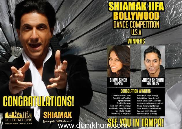 SHIAMAK IIFA BOLLYWOOD DANCE COMPETITION – WINNERS!