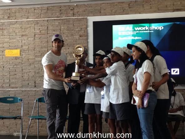 Varun Dhawan at Sujaya Foundation meet