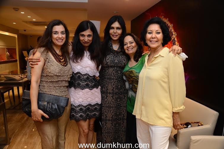 NISHA JAMVWAL HOSTS AN EXCLUSIVE SOIREE FOR ZOYA, EXQUISITE DIAMONDS FROM THE HOUSE OF TATA