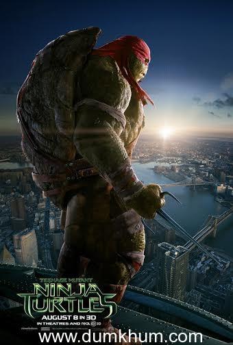 Get ready for the Teenage Mutant Ninja Turtles.
