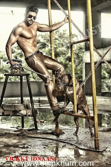 Gurmeet Choudhary's photo shoot by Vicky Idnaani for Stardust