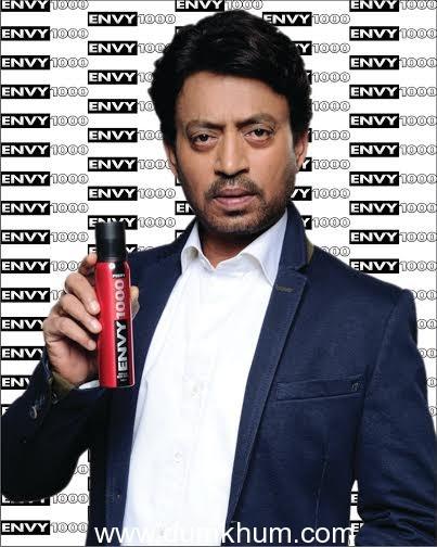 Irfan Khan to endorse ENVY 1000, a leading 'All Perfume, No Gas' Deodrant