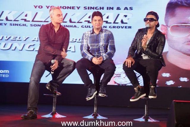 Bhushan Kumar launches 'Desi Kalakaar' Honey Singh's new album