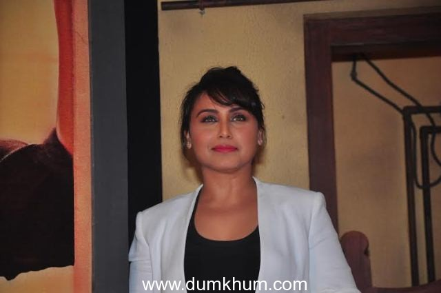 Rani Mukerji's Mardaani has got a lot of appreciation from the industry.