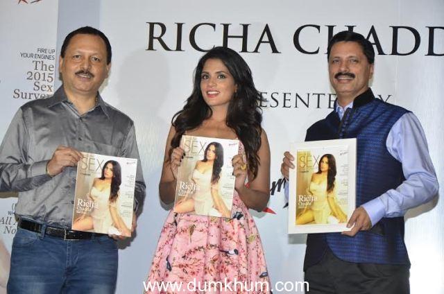 Maxim Cover and Sex Survey Launch with Richa Chadda, Sumona Chakravarty, Pria Kataaria Puri, Priyanka Bose, Karishma Kotak,  Kainaat Arora & Sobhita Dhulipala
