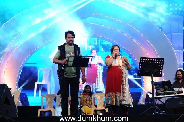 52nd Bengaluru Ganesh Utsava starts off on a high note with Kadri Gopalnath's saxophone rendition of Carnatic music