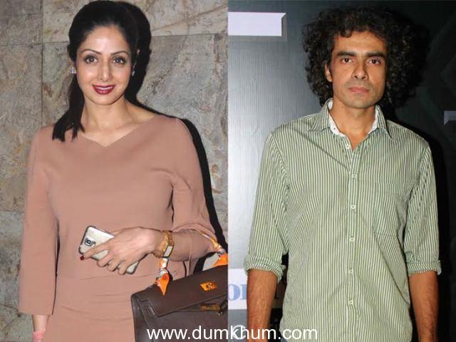 Sridevi & Imtiaz Ali to watch Marathi film TAPAAL
