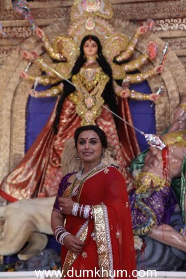 Rani Mukerji-Durga Pujo Images