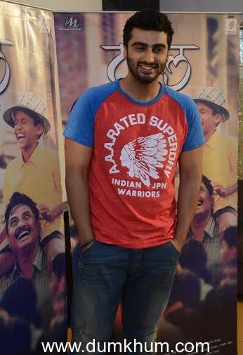 Arjun Kapoor gets speechless after watching Laxman Utekar's TAPAAL