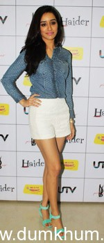 Blue color is the new favorite of B-Town actresses.