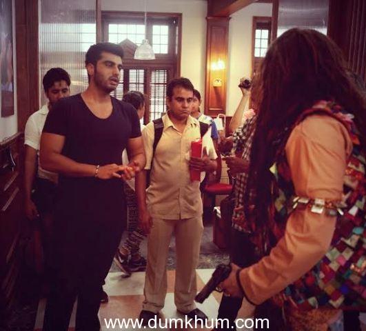 Arjun Kapoor meets the Bank Chors!