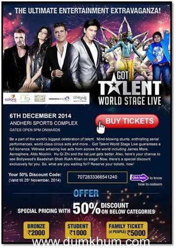 Got Talent World Stage LIVE got bigger than ever!