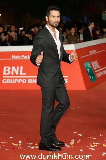Shahid works extra hours to attend Rome Film Festival