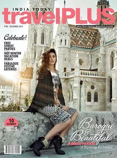 Nargis Fakhri on the cover of TravelPlus Magazine
