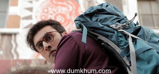 A sneak peak of Ranbir's  first look from Disney's Jagga Jasoos!