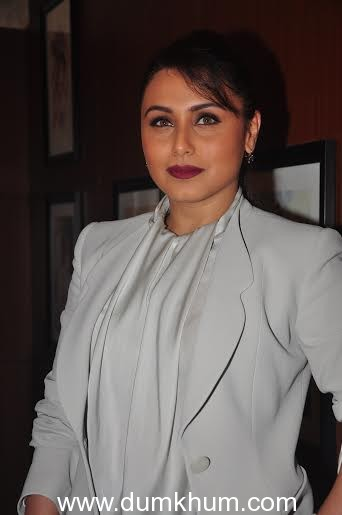 Rani Mukerji impressed with Bhumi's performance in Dum Laga Ke Haisha
