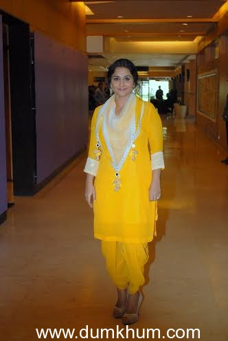 Vidya Balan speaks up in support of new comers!