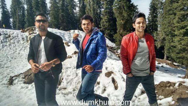 Ajaz Khan, Sahil Anand and Harsh shoot at Shimla