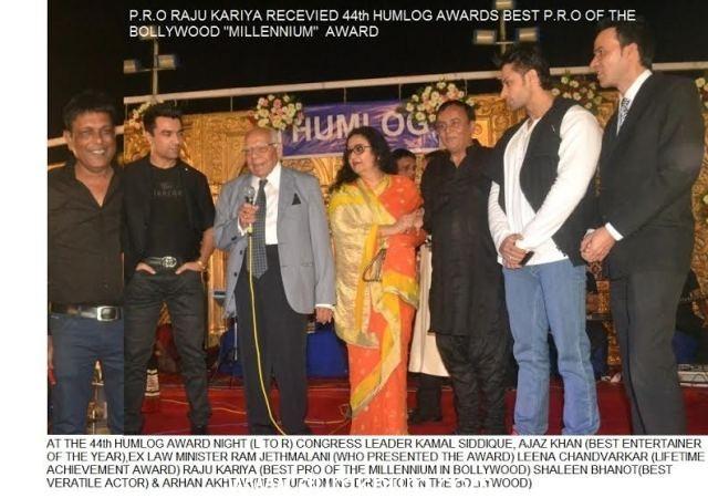 """RAJU KARIYA GETS THE PRO OF THE MILLENNIUM AWARD"""