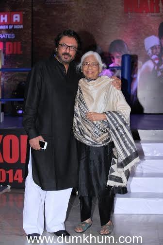 Sanjay Leela Bhansali receives his Padma Shri award!