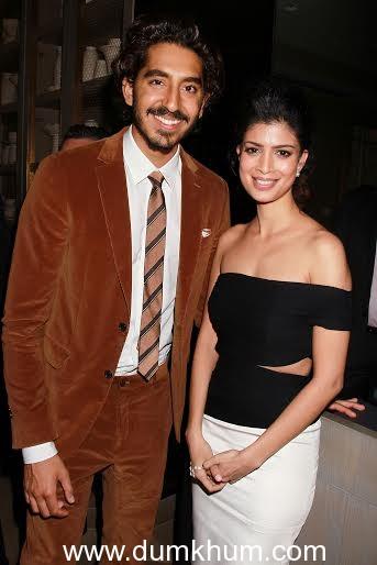 Dev & Tina Desai at the LA Premier  of the movie Second Best Exotic Marigold Hotel