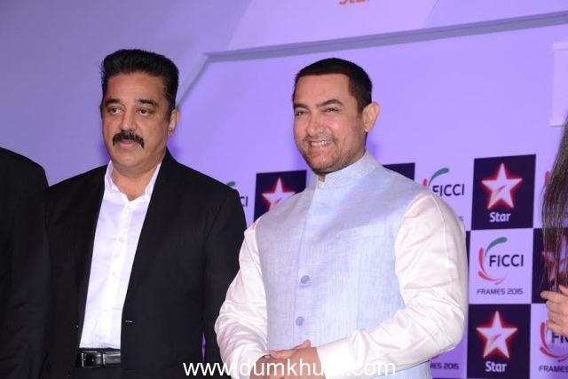 aamir Khan & Kamal Hasan at Ficci Inaugural Function- 1