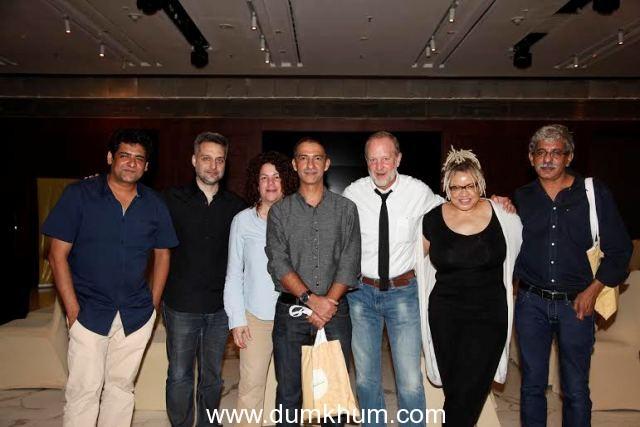 Drishyam Sundance Screenwriters' Lab 2015 conducted a 'Master Class on Screenwriting' as a curtain raiser to the Inaugural Edition.