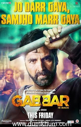 'Jo Darr Gaya, Samjho Marr Gaya' says Gabbar in the Latest Poster