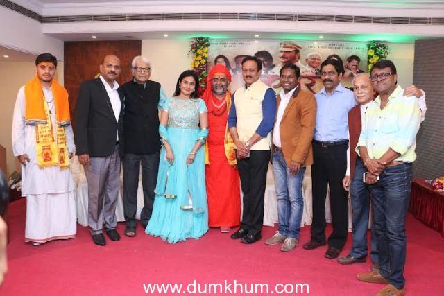 """""""Buddhha"""" an International Film &  Marathi Film """"Karaar"""" Launched with Great Fanfare."""