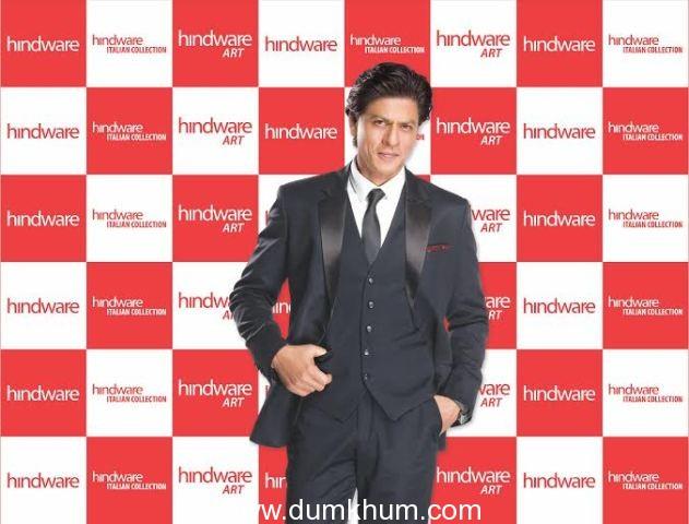 King of Bollywood Shah Rukh Khan is 'hindware' brand ambassador