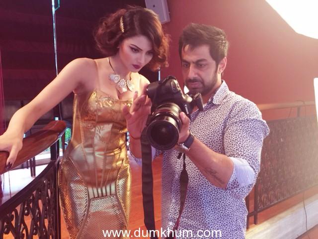 Actress/Model Urvashi Rautela Shoots for Glame & Glaze Magazines's Cover Page