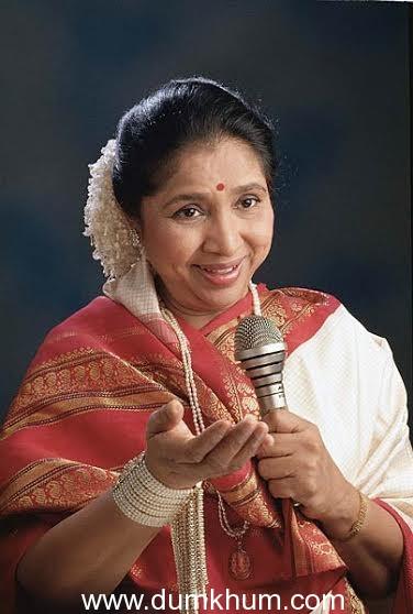 Asha Bhosle sings a Lavani for a Marathi film 'Gurukul'