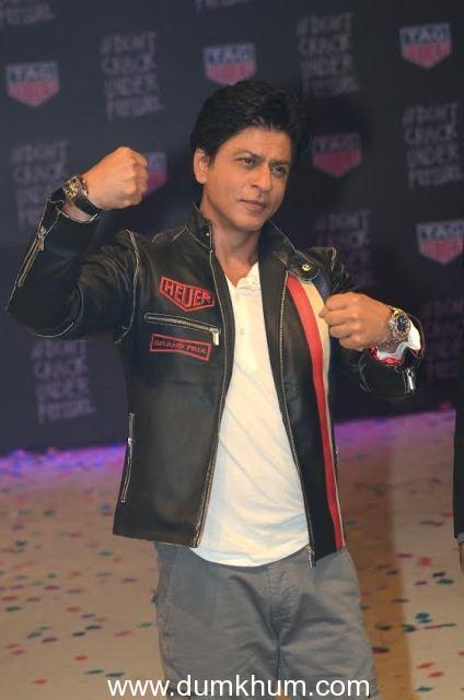TAG HEUER Brand Ambassador Shah Rukh Khan's Action Packed Dhamaka