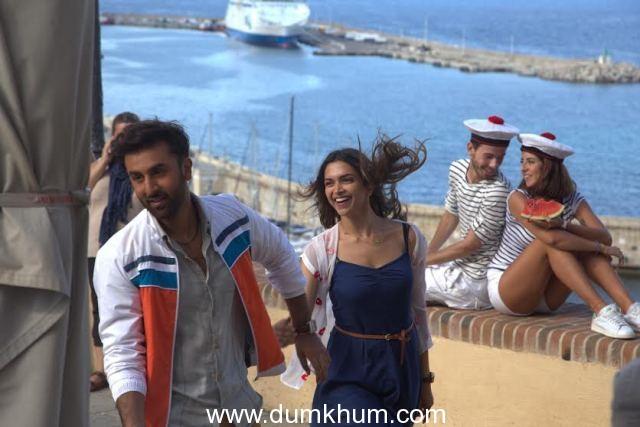 """""""Ranbir Kapoor and Deepika in Tamasha"""""""
