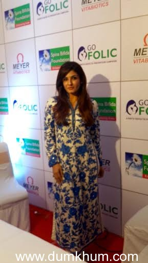Raveena Tandon unveils 'GoFolic' campaign