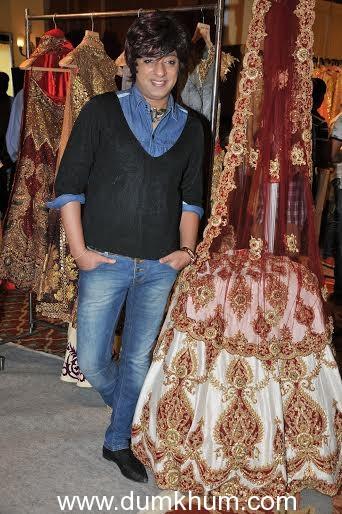 Designer Rohit Verma exhibited his Prêt & Bridal Collection at Martini Queens Exhibition
