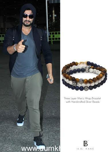 Actor Arjun Kapoor in BeBajrang bracelet