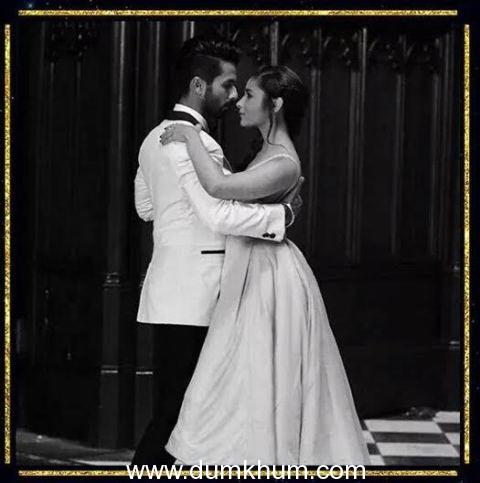 Shahid Kapoor helps Alia Bhatt with Ballroom dance for Nazdeekiyan